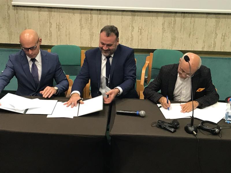 Podpisanie porozumienia z  GIG oraz ITG KOMAG
