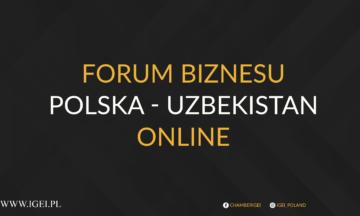 Forum Biznesu Polska-Uzbekistan