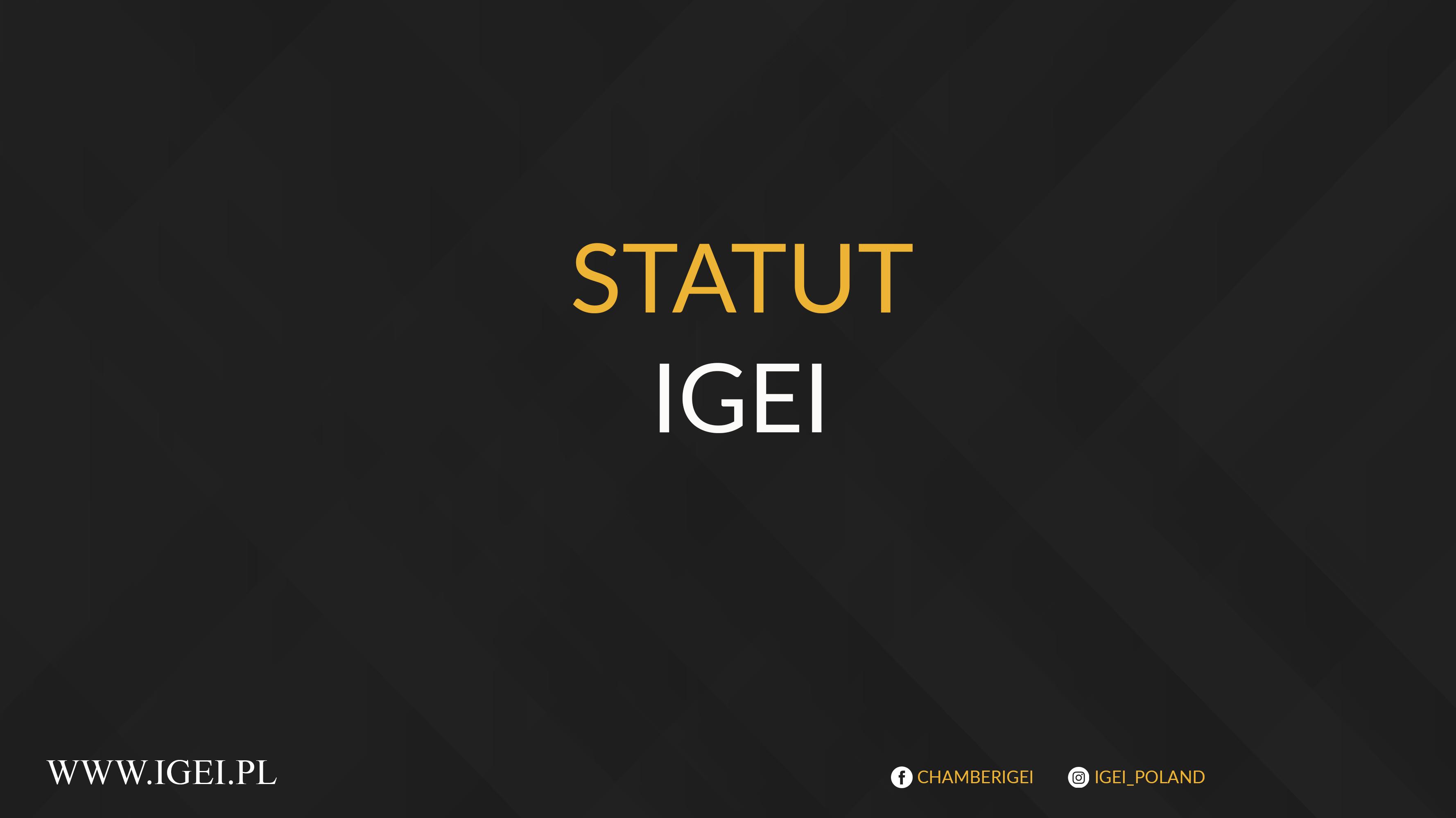 Statut Igei po zmianach z 17.03.2021r.